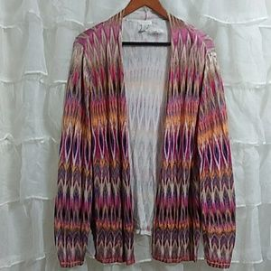 New CHICO'S Open Front Cardigan XL